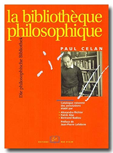 9782728803217: Bibliotheque philo. de paul celan (la)