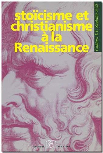 Stoïcisme et christianisme à la Renaissance: Collectif