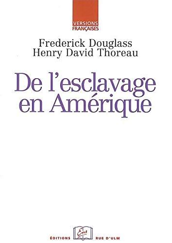 9782728803736: De l'esclavage en Am�rique