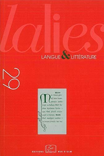 9782728804283: Lalies, N° 29/2009 :