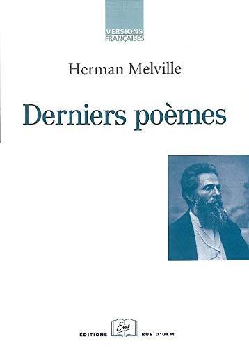 9782728804320: derniers poèmes