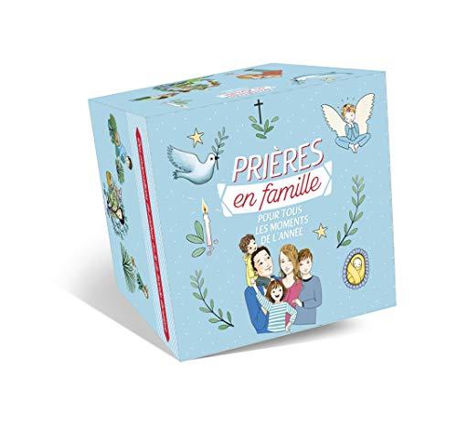 9782728924271: Coffret prières en famille pour tous les moments de l'année : Contient 75 cartes de prières et un petit livret de prières