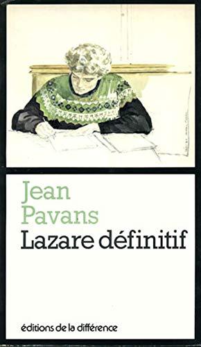 Lazare definitif (Collection La Felure) (French Edition): Pavans, Jean