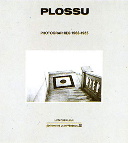 9782729102166: Plossu - photographies, 1963-1985