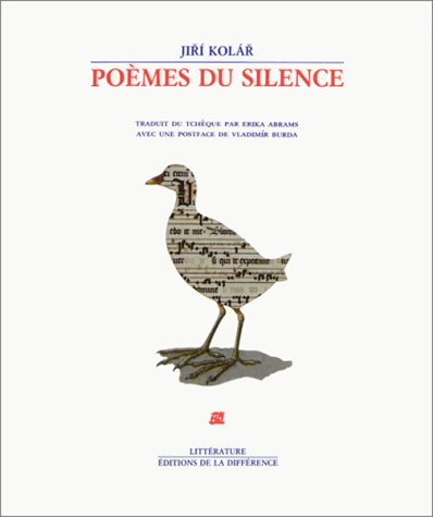 Poà mes du silence [Mar 16, 1988]: Jiri Kolar