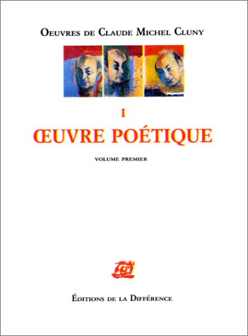 9782729106638: OEUVRES COMPLETES. Tome 1, Oeuvres po�tiques