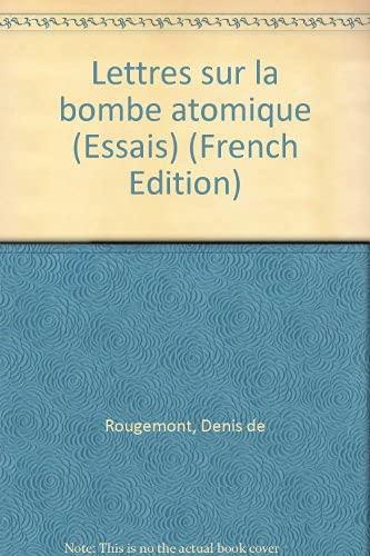 9782729106805: 700 ans de littérature en Suisse romande Tome 8 : Lettres sur la bombe atomique