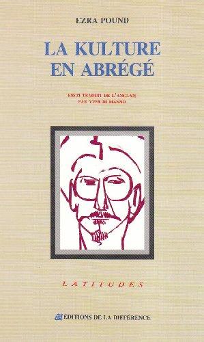 9782729108762: Kulture en abrege (la) (Latitudes Lles)