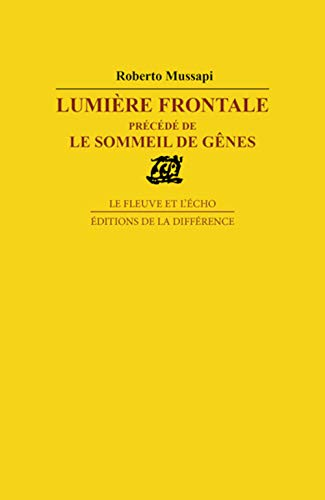 9782729110925: Lumiere frontale (French Edition)