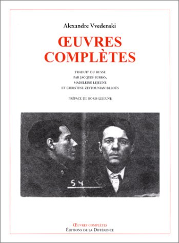 9782729113667: Alex andre wedenski - oeuvres completes (French Edition)