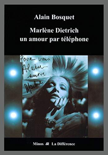 9782729114091: Marlène Dietrich un amour par téléphone