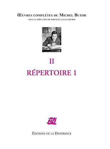 9782729116064: Répertoire : Tome 1