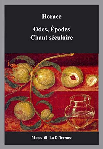 9782729116149: Odes, Epodes Chant s�culaire : Edition bilingue fran�ais-latin