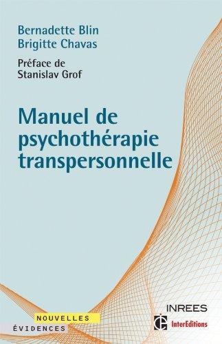 9782729610685: Manuel de psychothérapie transpersonnelle