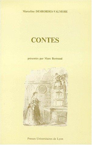 Contes: Desbordes-Valmore, Marceline
