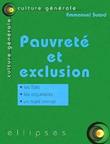 9782729801724: Pauvreté et Exclusion