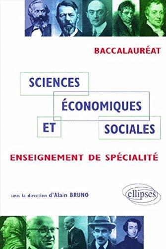 Sciences economiques et sociales enseignement de specialite bac es (2729803335) by Bruno
