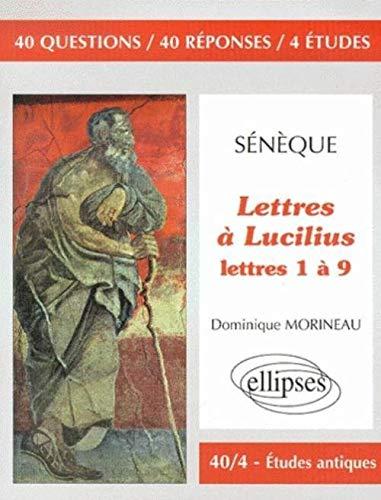 9782729803773: Sénèque, Lettres à Lucilius, 1 à 9