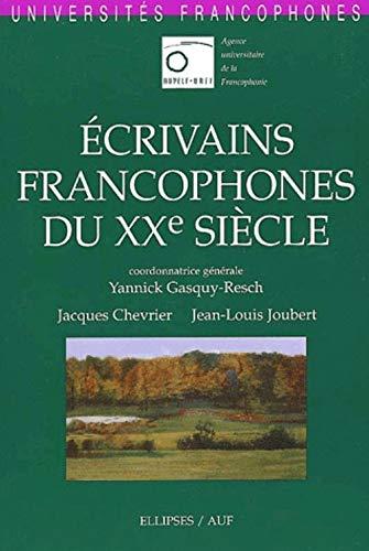 Ecrivains francophones du XXe siècle : Universités: Jacques Chevrier; Jean-Louis