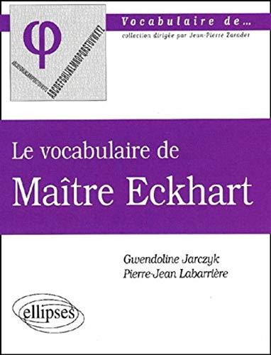 9782729804589: Le Vocabulaire de Maïtre Ecknart