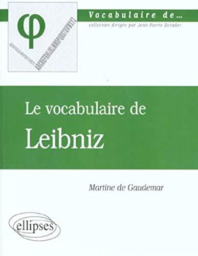 9782729805814: Vocabulaire de leibniz