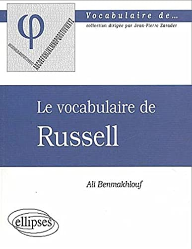 9782729808228: Le vocabulaire de Russel