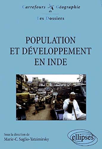POPULATION ET DEVELOPPEMENT EN INDE: SAGLIO, MARIE-CAROLINE ;