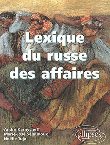 9782729809263: Lexique du russe des affaires