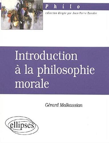 9782729809850: Introduction � la philosophie morale
