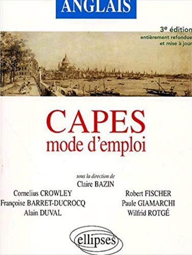 9782729811280: Anglais CAPES mode d'emploi
