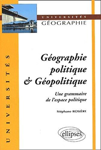 9782729811655: Géographie politique et géopolitique
