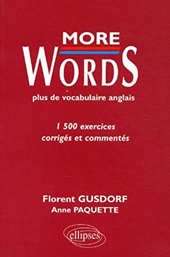 9782729814533: More words (French Edition)