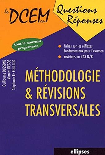 9782729815523: M�thodologie et r�visions transversales