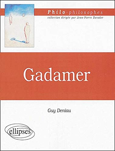 9782729819453: Gadamer (French Edition)