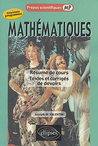 9782729819491: Mathématiques Prépas scientifiques MP (French Edition)
