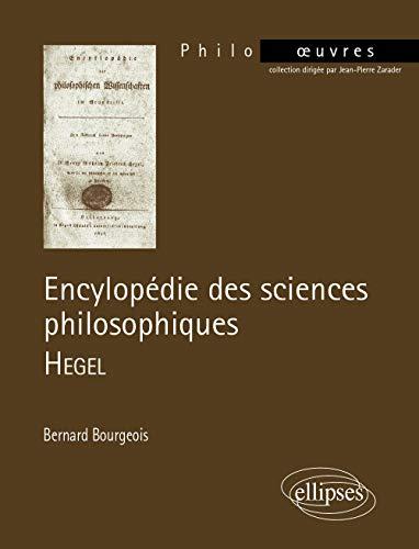 9782729821722: Encyclop�die des sciences philosophiques : Hegel