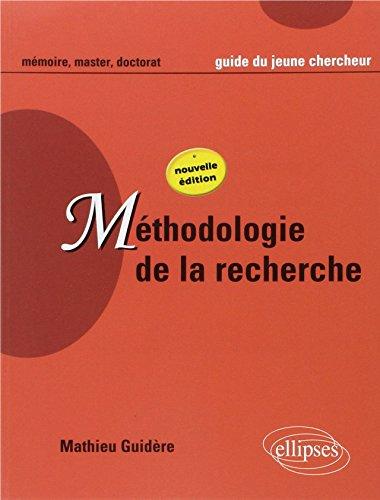 9782729821760: Méthodologie de la recherche nouvelle édition