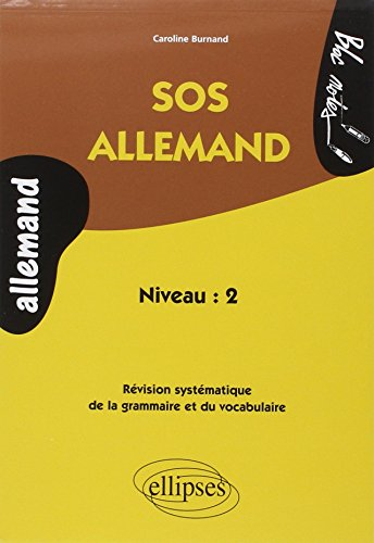 9782729823863: SOS Allemand niveau 2 (French Edition)