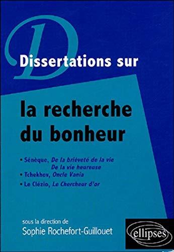 9782729823993: Dissertations sur la recherche du bonheur