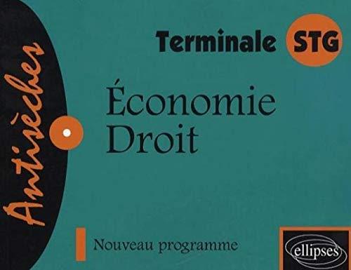 9782729828332: Economie-Droit Tle STG