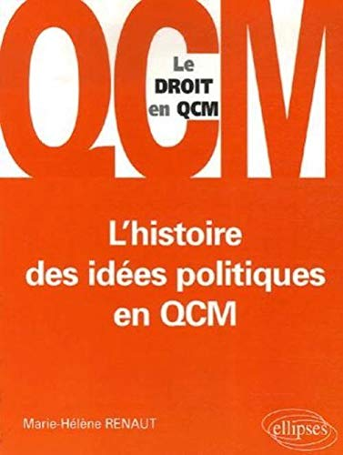 9782729829575: L'histoire des idées politiques en QCM