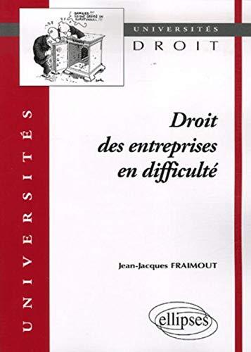9782729832421: Droit des entreprises en difficult�