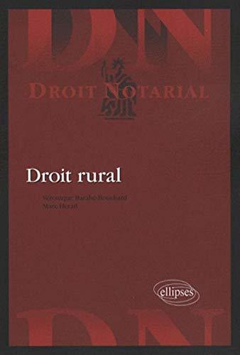 9782729834777: Droit rural