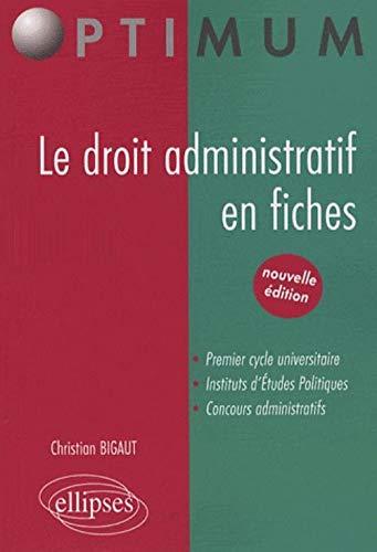 9782729835811: Le droit administratif en fiches
