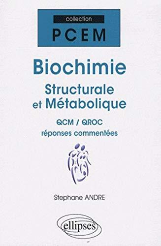 9782729837235: Biochimie structurale et métabolique (French Edition)