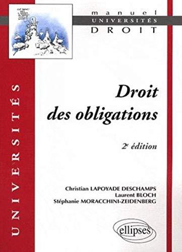 9782729840150: Droit des Obligations Deuxième Edition