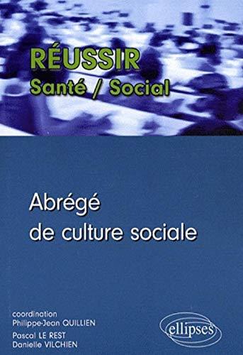 9782729840266: Abrege de Culture Sociale