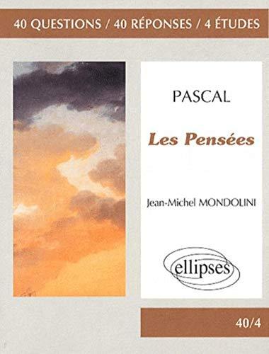 9782729840372: Les Pensees de Pascal