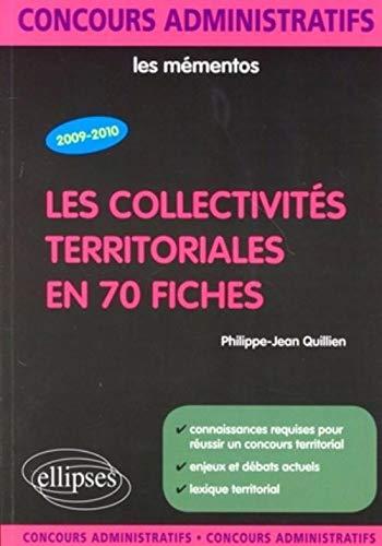 8b395f9d657 Les collectivités territoriales en 70 fiches (Les  Philippe-Jean Quillien