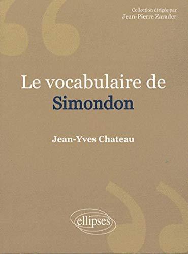 9782729841508: Simondon (Vocabulaire de...)